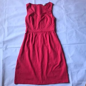 Boden pink midi dress. Size 8L zipper back